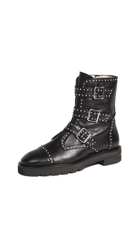 Stuart Weitzman Jesse Lift Boots in black