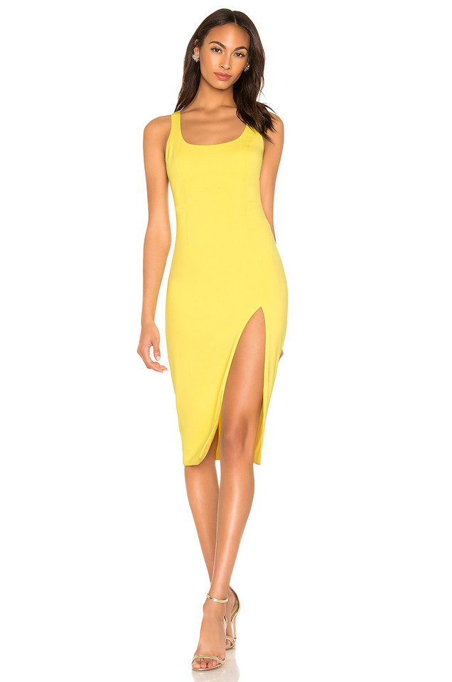 Jay Godfrey Witherspoon Dress in yellow