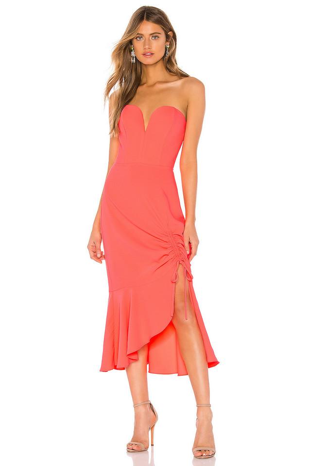 Amanda Uprichard Rayna Dress in pink