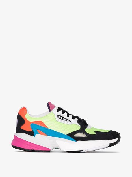 Adidas Multicoloured Falcon chunky sneakers