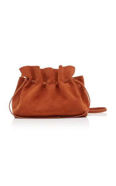 Mansur Gavriel Protea Suede Bag in brown