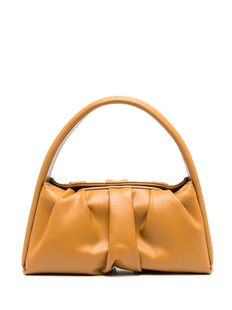 Themoirè Themoirè Hera leather tote bag - Brown