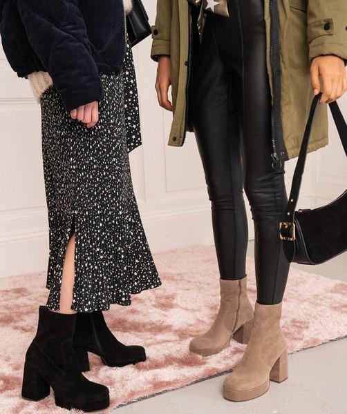 skirt bag shoes coat