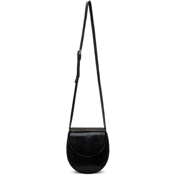 Hunting Season Black Lizard Saddle Bag