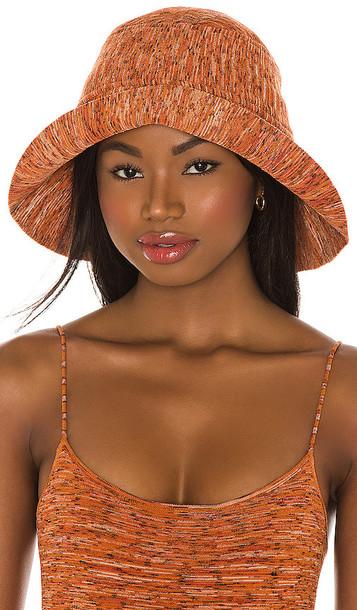 Tropic of C Tropicana Bucket Hat in Orange in saffron