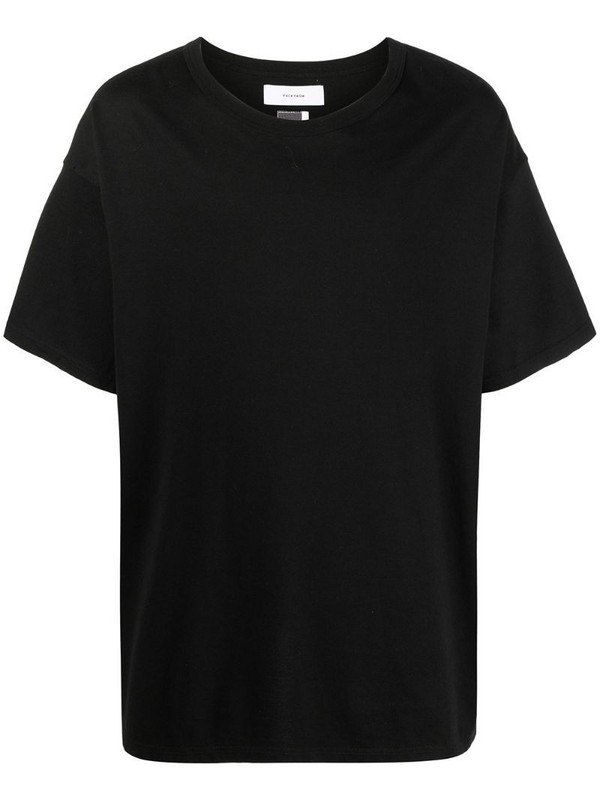 Facetasm logo-print short-sleeved T-shirt in black
