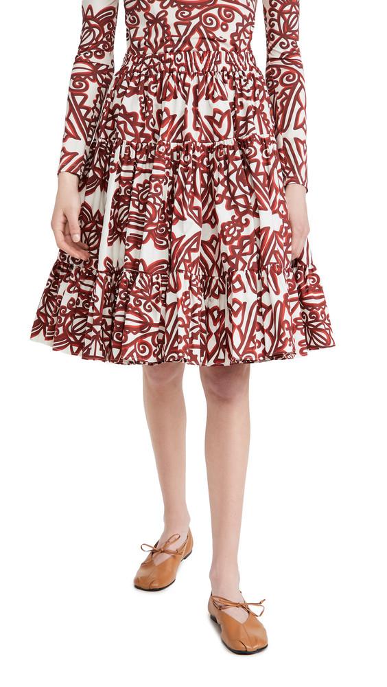 La Double J Love Skirt in multi
