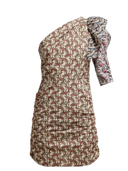 1f803df6d83 Isabel Marant Étoile Isabel Marant étoile - Liila Paisley Print One  Shoulder Dress - Womens -
