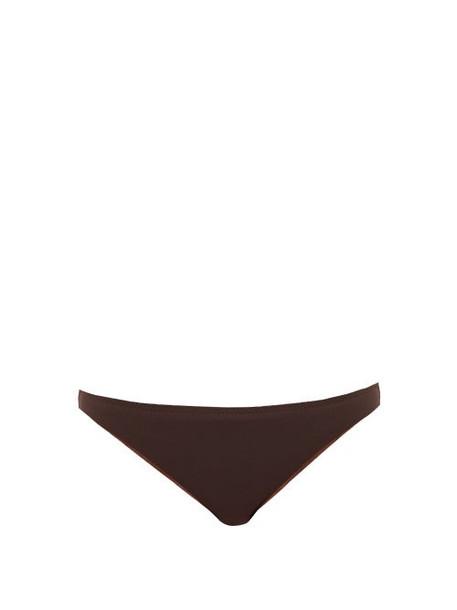 Belize - Vivian Low Rise Bikini Briefs - Womens - Brown