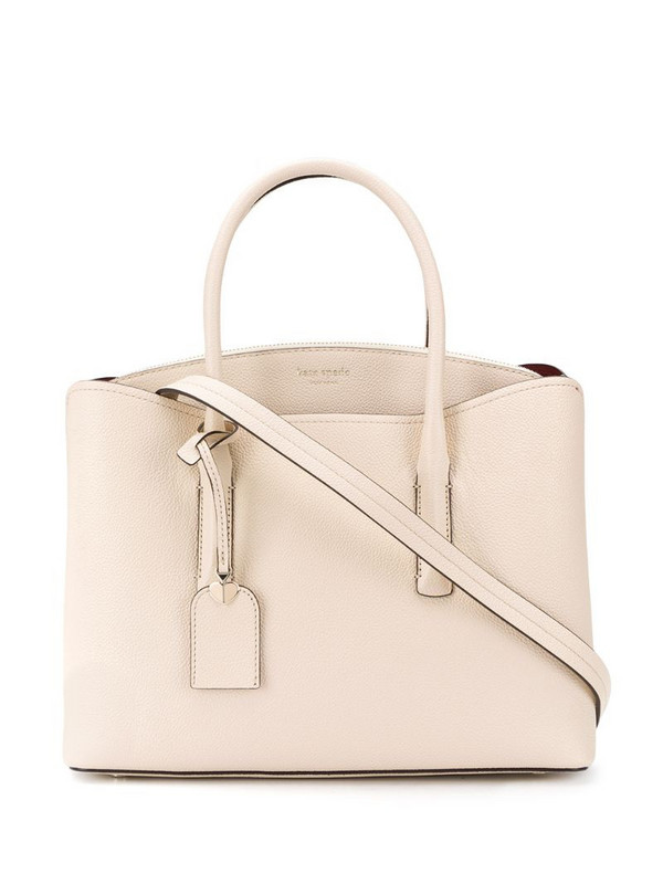 Kate Spade Margaux large tote bag in neutrals