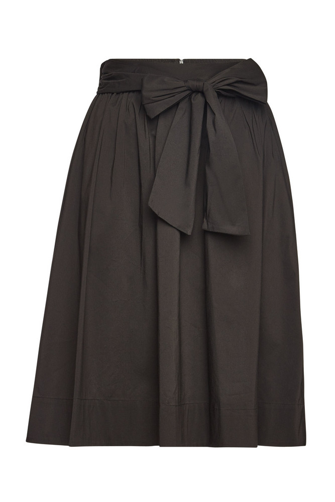 Steffen Schraut Skirt with Cotton  in black