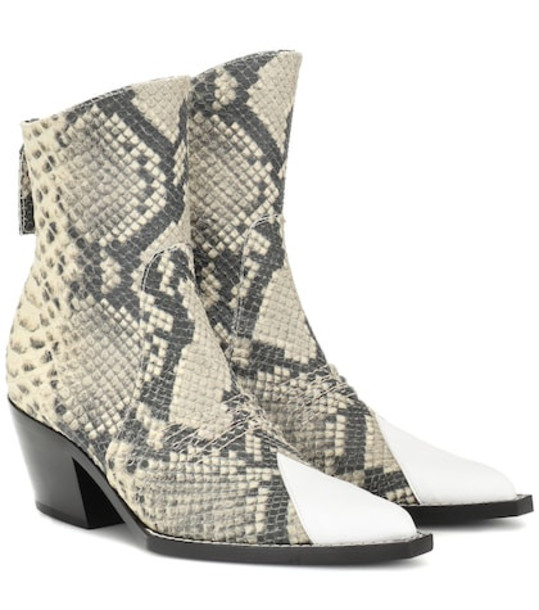 1017 ALYX 9SM Tex leather ankle boot