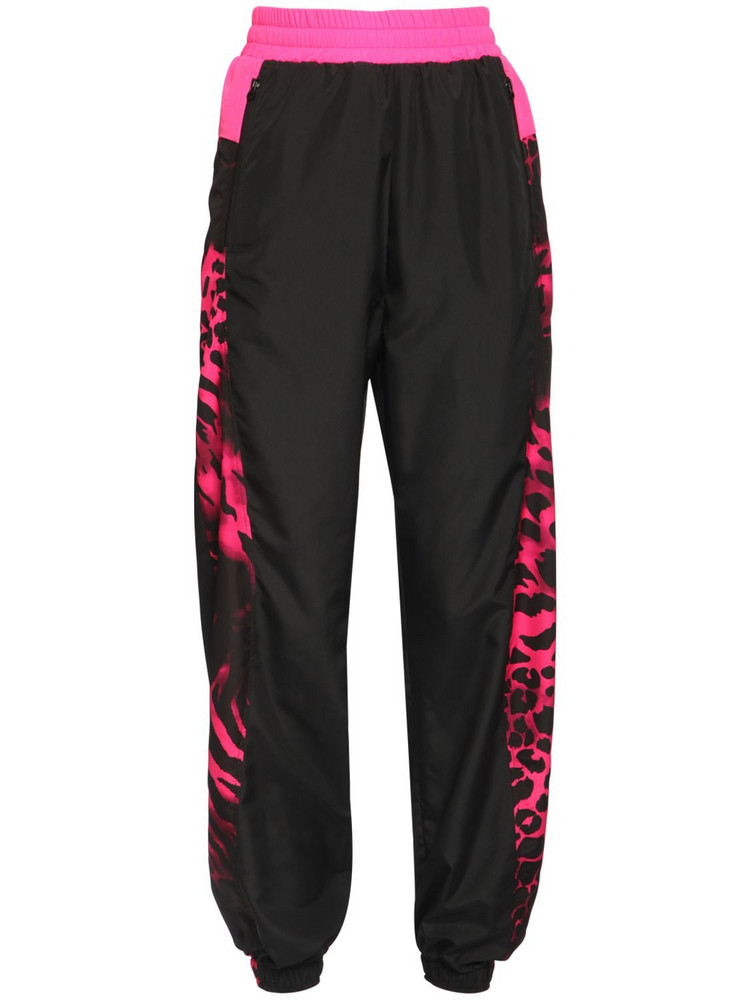 REDEMPTION High Waist Nylon Track Pants
