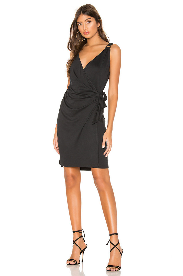 HEARTLOOM Rory Dress in black