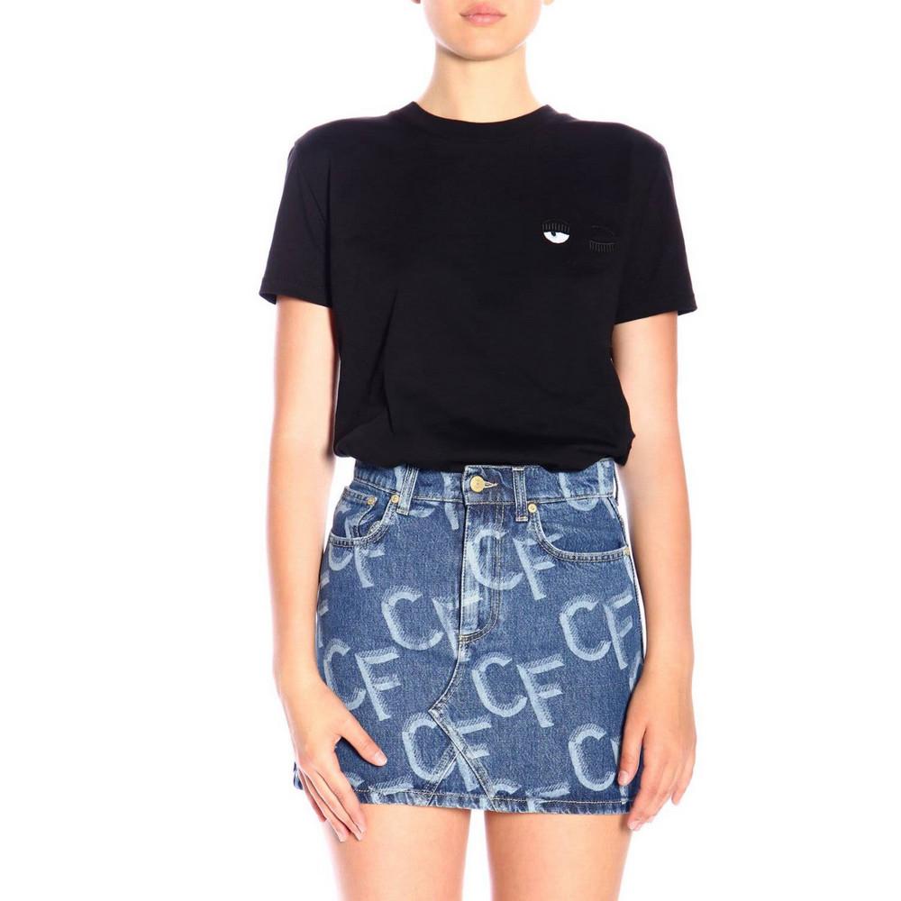 Chiara Ferragni T-shirt T-shirt Women Chiara Ferragni in black