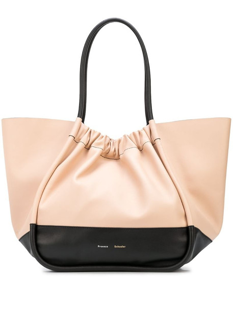 Proenza Schouler ruched large tote bag in pink