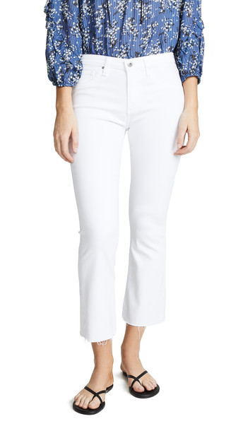AG The Jodi Crop Jeans in white