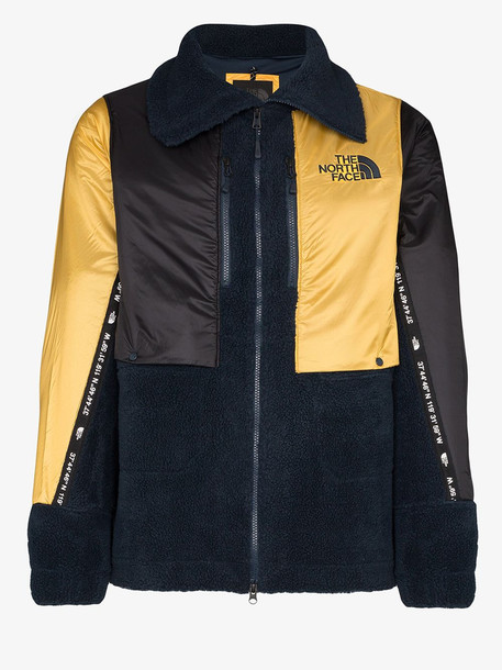The North Face Black Label The North Face Black Series Fleece zipped logo jacket