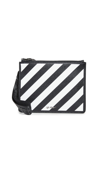 Off-White Diagonal Pouch