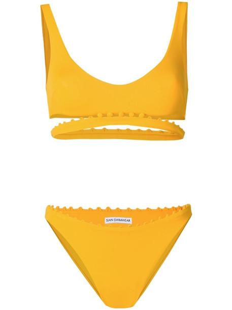 Sian Swimwear Liliana two-piece bikini in yellow