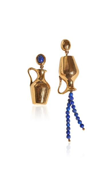Pamela Love Vessel 14K Gold-Plated Earrings