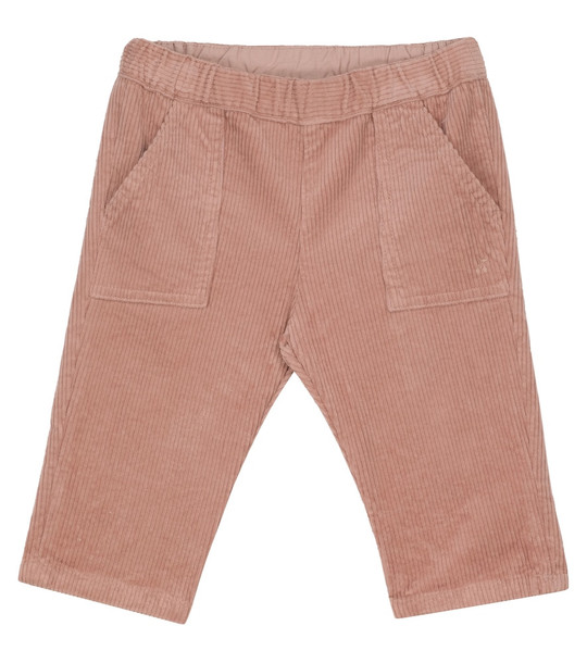 Bonpoint Baby Thursday corduroy pants in pink