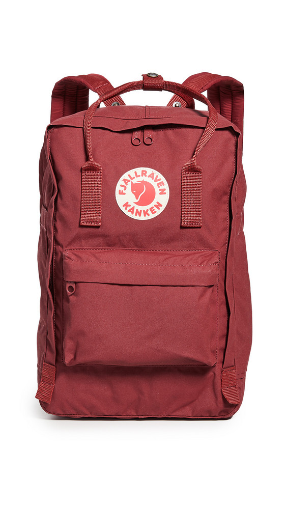 Fjallraven Kanken 15 Laptop Backpack in red