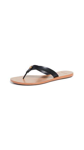 Tory Burch Manon Thong Sandals in black