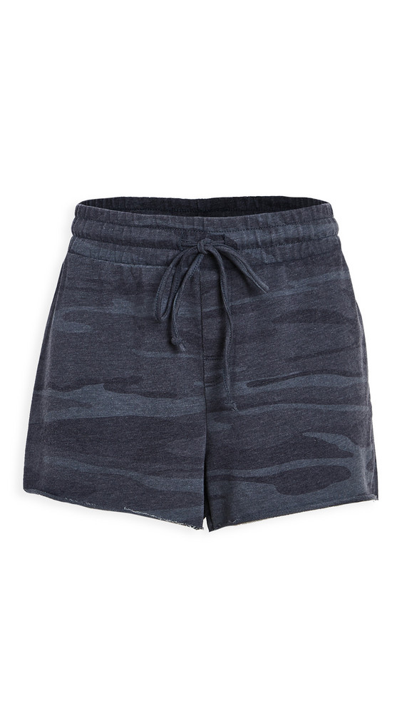 Z Supply The Camo Shorts in blue