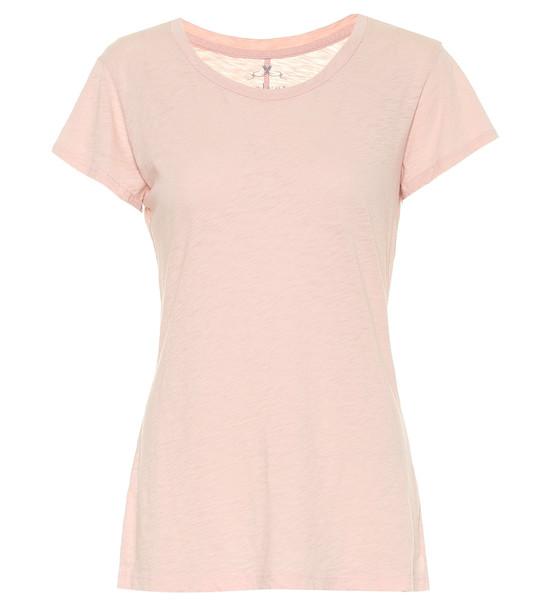 Velvet Odelia cotton T-shirt in pink