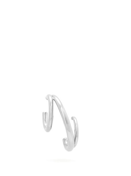 Charlotte Chesnais - Triplet Sterling Silver Single Earring - Womens - Silver