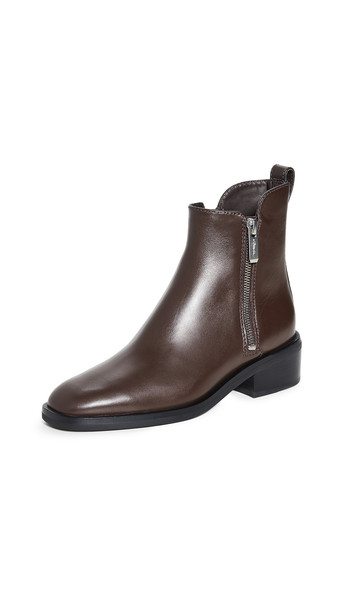3.1 Phillip Lim 40mm Alexa Boots in chocolate