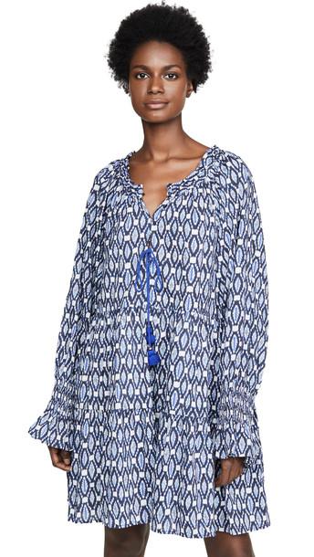 Figue Bella Short Dress in blue