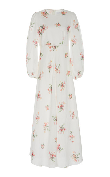 Zimmermann Heathers Floral-Print Voile Maxi-Dress