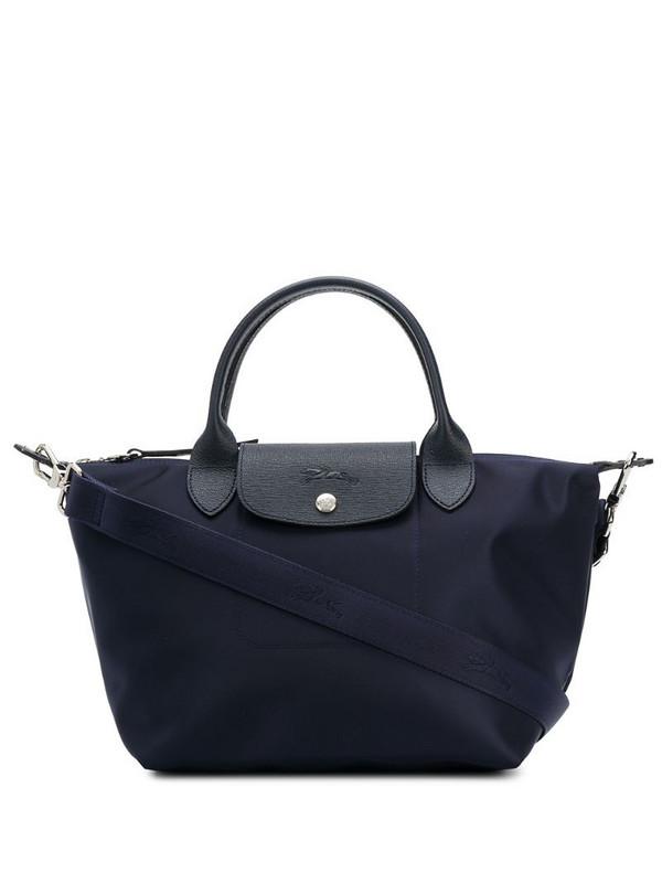 Longchamp Le Pliage shopper tote in blue