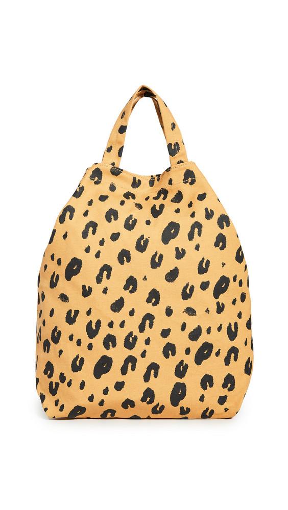 BAGGU Duck Bag in leopard