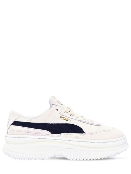 PUMA SELECT Deva Suede Sneakers in black / beige