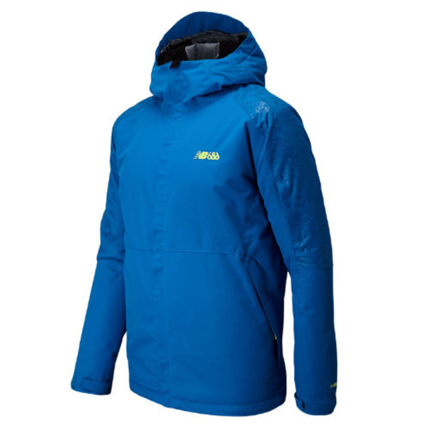 New Balance 4306 Men's Men's Cold Trail Insulator Jacket - Laser Blue (NMOJ4306LSB)