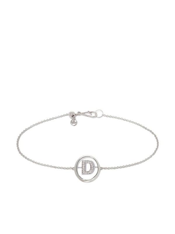 Annoushka Initial D bracelet in silver