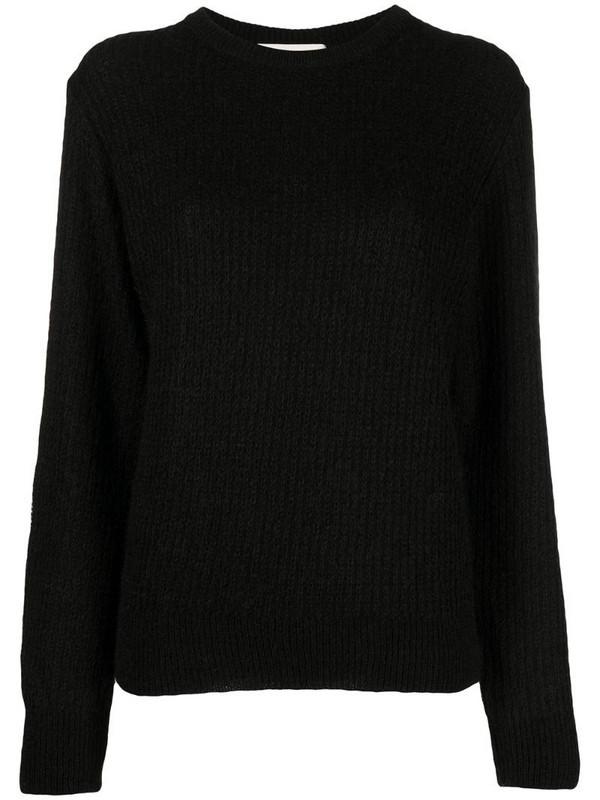 Stephan Schneider ribbed-knit jumper in black