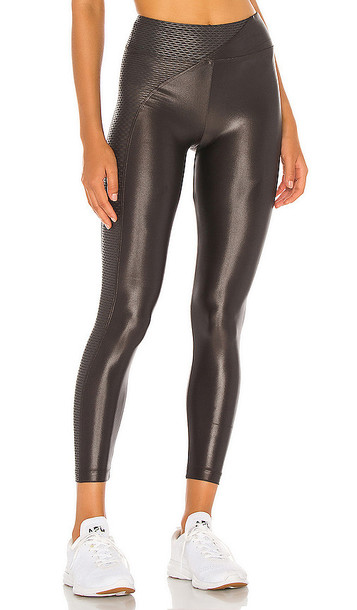 KORAL Chase High Rise Infinity Legging in Charcoal
