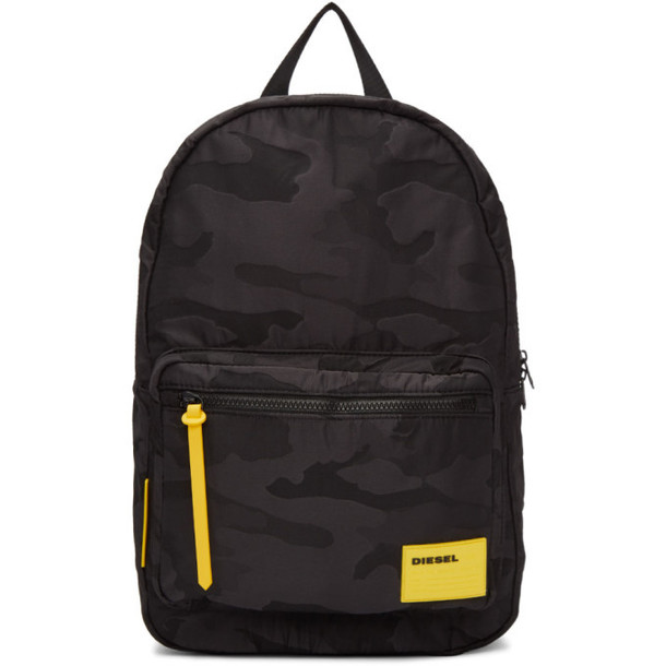 Diesel Black Camo F-Discover Backpack