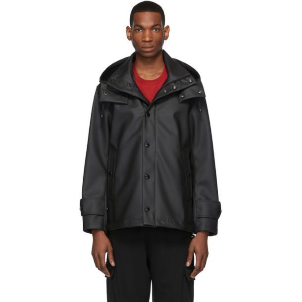 Burberry Black Hastings Hooded Jacket