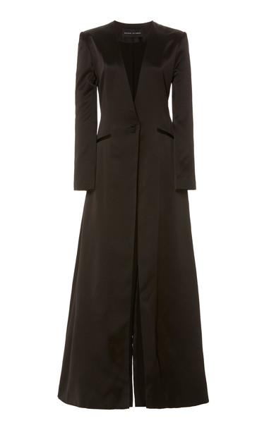Michael Lo Sordo Empire Silk Jacket in black