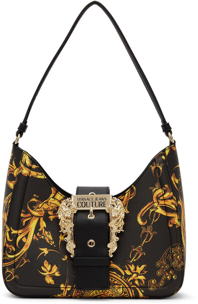 Versace Jeans Couture Black Baroque CoutureI Shoulder Bag