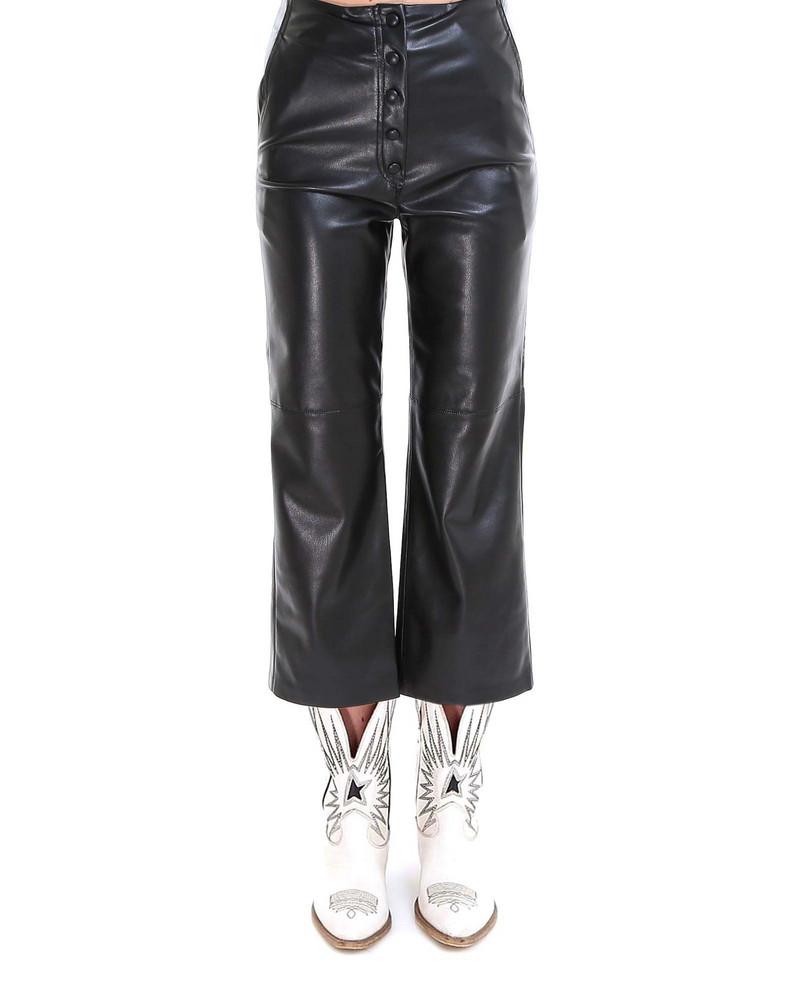 Nanushka Trousers in black