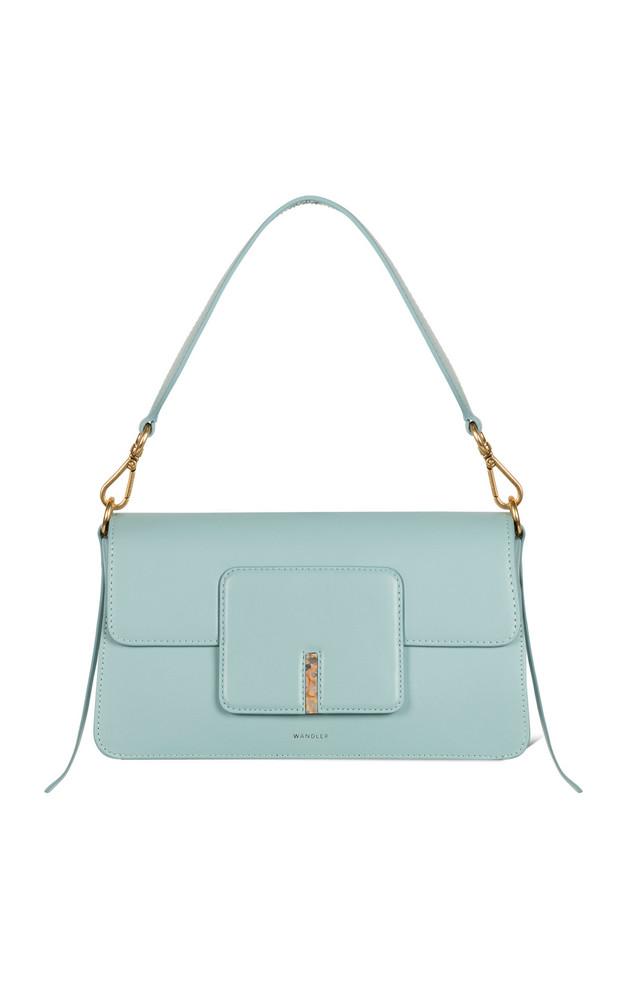 Wandler Georgia Leather Shoulder Bag in blue