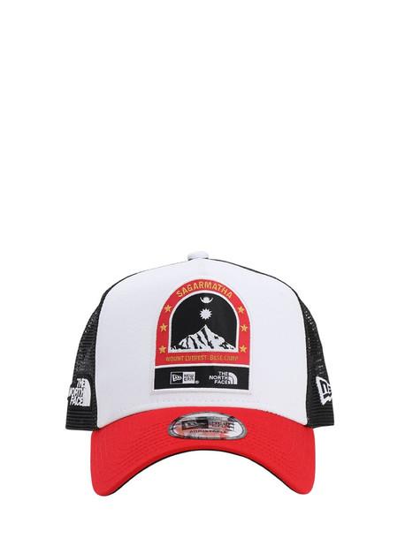 North Face X New Era Baseball Hat in white