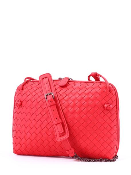 Bottega Veneta Nodini Bag Red