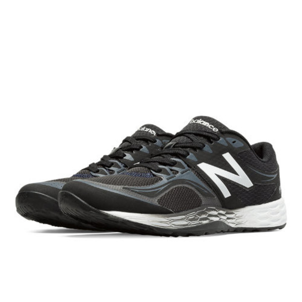 New Balance Fresh Foam 80v2 Men's Cross-Training Shoes - Black/Silver (MX80BB2)